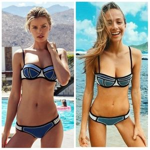Triangl Swimwear Brigitte Neoprene Push Up Bra S+